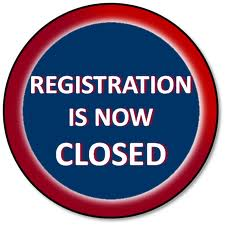 registration now closed